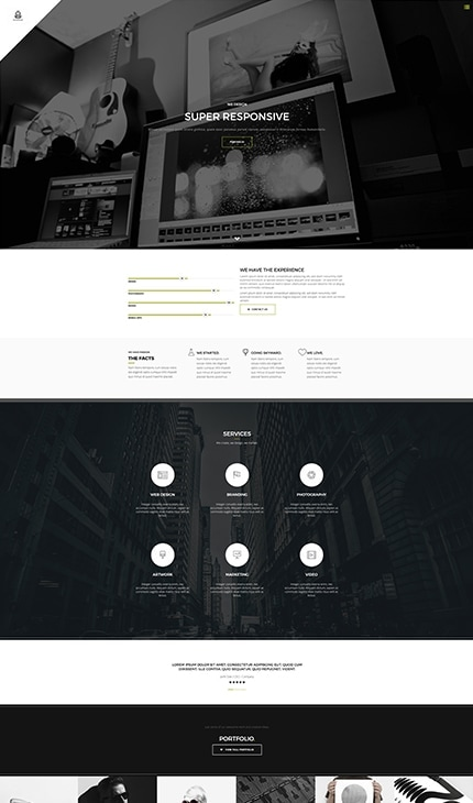 Holeon - Agency Weebly Template