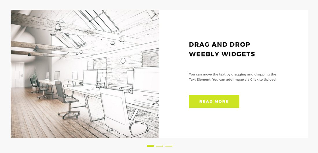 Weebly Service Carousel