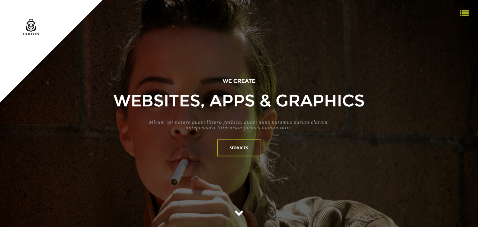 Agency Weebly Template