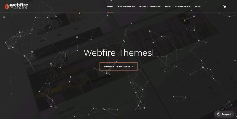 Webfire Themes launches new website