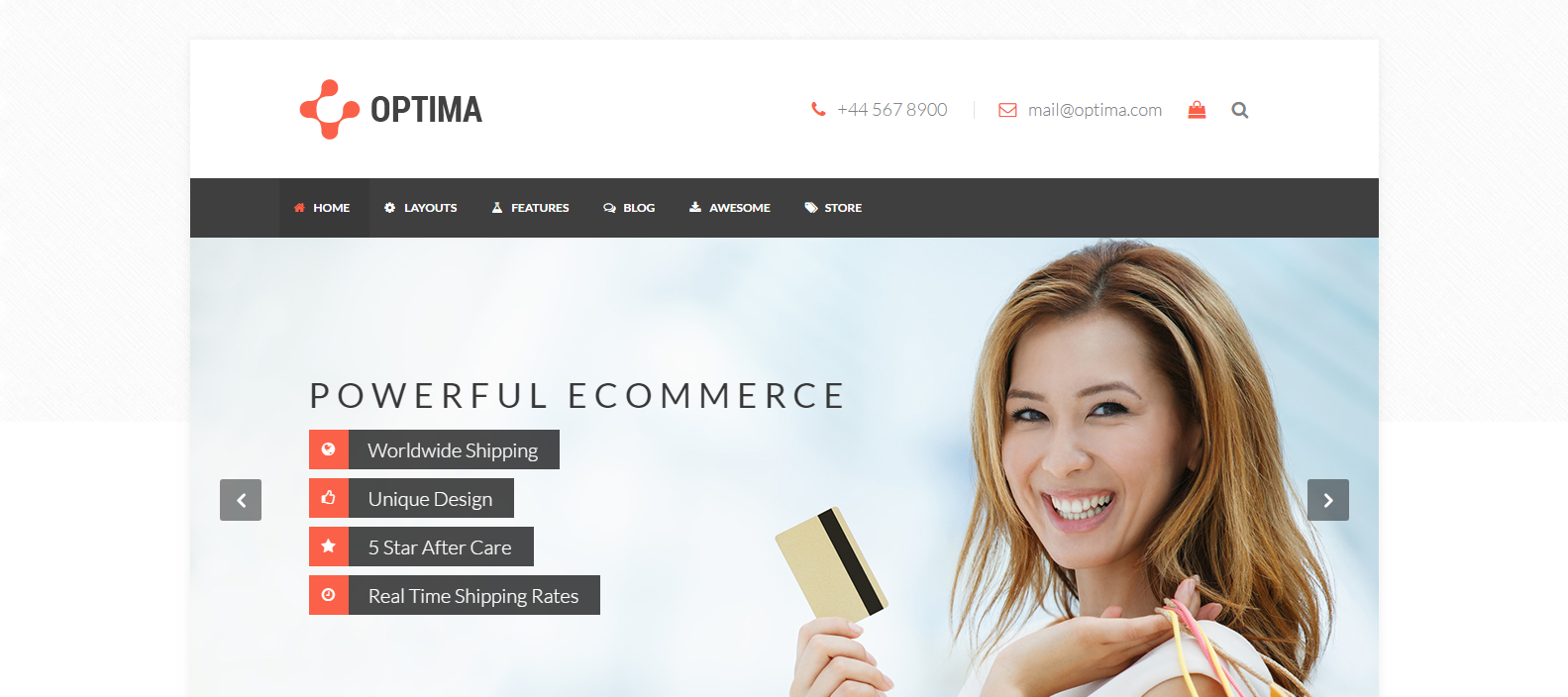 Weebly Ecommerce Template